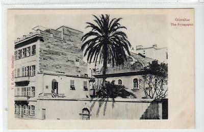 THE SYNAGOGUE: Gibraltar postcard (C35849)