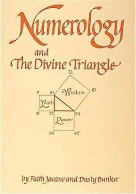 Numerology and the Divine Triangle, Paperback by Javane, Faith; Bunker, Dusty...