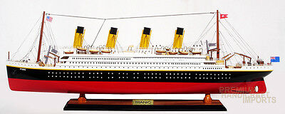 "32"" RMS Titanic Model Ship Handcrafted by master craftsmen"