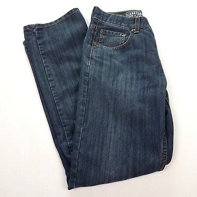 LEVIS STRAUSS & CO Signature Slim Straight Jeans Boys Size 18 Adjustable Blue