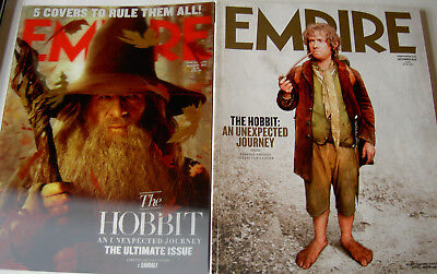 Empire Magazine Issue 282, The Hobbit - Ltd Edition Cover & Holographic Print