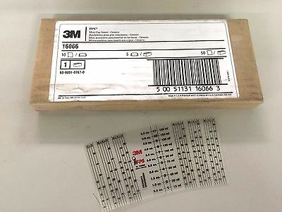 NEW BOX 3M 16056 PPG2 MYLAR FILM INSERTS FOR STANDARD PPS 100 MIX RATIO INSERTS