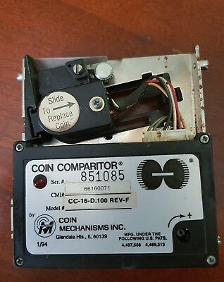 Coin Mechanisms Inc. CC-16D 100 REV-F Coin Comparitor