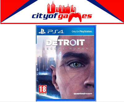 Detroit Become Human PS4 Game New & Sealed In Stock