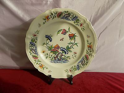 Sarreguemines U&c Tres Grand Plat Decor Rouen 34 Cm