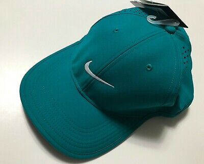 a0d9877eef091 Nike 727040 Unisex Dri-Fit Golf Hat Cap Adjustable Gray Blue Charcoal Navy  Green