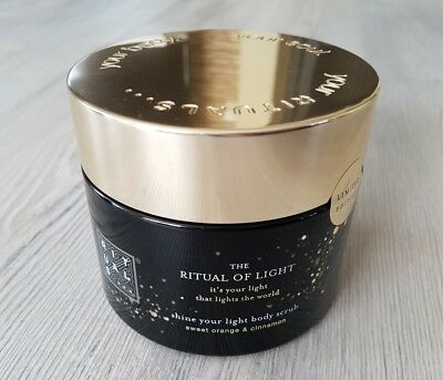 RITUAL OF LIGHT, Body scrub - Limited, 375g, NEU