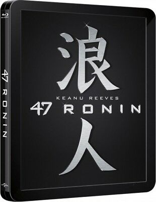 47 Ronin 3D - Limited Edition Steelbook [Blu-ray 3D + Blu-ray] New and Sealed!!