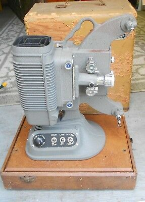 Vintage Movie Projector In Orig Case with Accessories