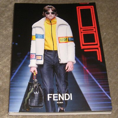 Fendi · Roma · Men's Collection · Herbst/Winter 2017/18 · Look book · Katalog