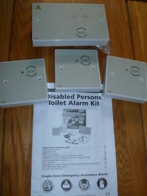 Qty 1 x zone cont , 3 x remote reset Disabled Persons Alarm system 800 series