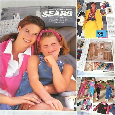 Sears Spring Summer 1993 Annual Mail Order Catalog Apparel Home Decor Book