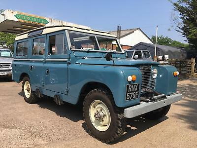 """1968 Land Rover 2.6 6 cylinder 109"""" Station Wagon fully restored"""
