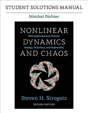 Nonlinear Dynamics and Chaos, Paperback by Strogatz, Steven H.; Dichter, Mitchal