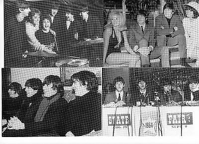 Set Of Four French Beatles Postcards (Set One)