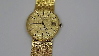Vintage Gentleman's Rotary Automatic Incablac Swiss Made watch 21 jewels Working