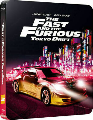 The Fast and the Furious: Tokyo Drift - Ltd. Ed. Steelbook [Blu-ray] New!!