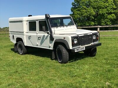 Land Rover Defender 130 td5 double cab special vehicles