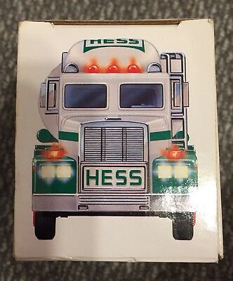 1990 Hess Toy Tanker Truck. New In Box