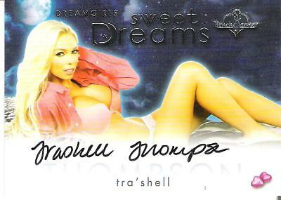 2016 Benchwarmer Dreamgirls Trading Card Tra'Shell Thompson Authentic Autograph