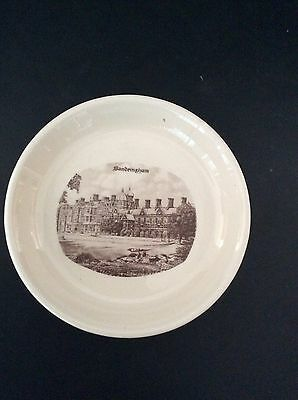 Goodliffe Neale Pin Trinket Dish Crested Ware Sandringham House Alcester Collect