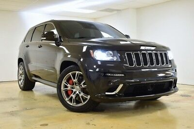 Grand Cherokee SRT8 2012 Jeep Grand Cherokee SRT8 49,209 Miles Brilliant Black Crystal Pearlcoat 4D