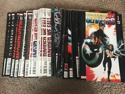 ULTIMATE COMICS THE ULTIMATES 2011 comic book # 1-30 Iron Man Thor Run