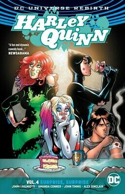 Harley Quinn 4 : Surprise, Surprise, Paperback by Palmiotti, Jimmy; Conner, A...