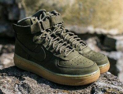 detailed look 6a2f9 c890c Nike Air Force 1 High Wb (Gs) Sz 4Y-Youth (Wmns
