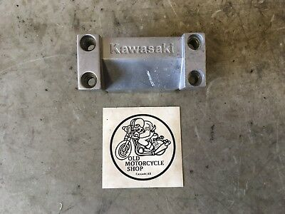 "1985 Kawasaki Vulcan Vn750A Handlebar Top Clamp ⅞"" Bar"