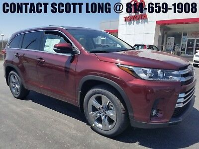 2018 Toyota Highlander New 2018 Limited Platinum Nav Sunroof Leather New 2018 Highlander Limited Platinum AWD Navigation Heated Cooled Seats Camera