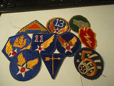 Vintage WW 2 Patches. lot of 10   #2