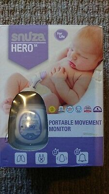 Snuza Hero Baby Monitor - Unsed Gift : New with Spare Battery