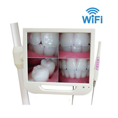 WiFi Dental Wired Intraoral Camera with 17 inch Screen Monitor HD-A Wd