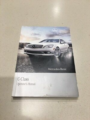 Mercedes Benz C Class 2010 Owners Manual Books 👋 Sale. Free Shipping