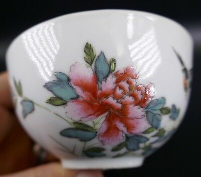 Fine Old Chinese 19th/20th Republic Period Porcelain Tea Cup Signed