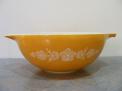 Vintage Retro Large Pyrex by Corning Milk Glass Mixing Bowl