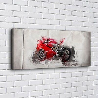 """12""""x28""""Ducati 12 Motorcycle Home Decor HD Canva Print Picture Wall Art Painting"""