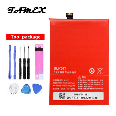 BLP571 New Replacement Battery for ONEPLUS ONE 1+ A0001 3000/3100mAh with Tools
