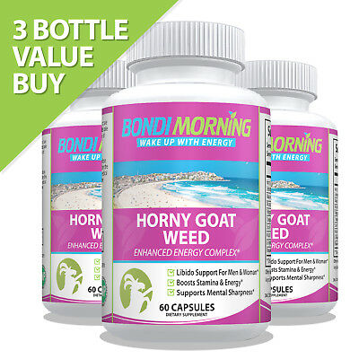 Horny Goat Weed - Libido Enhancing Supplement for Men and Women