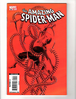 The Amazing Spider-Man #600 (2009, Marvel) VF Alex Ross Red Cover