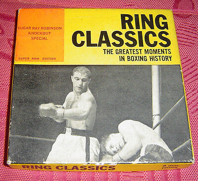 Boxe - Boxing : Sugar Ray Robinson Knock Special Éditeur Ring Classics Super 8Mm
