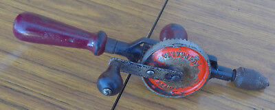 Vintage Stanley Hand Drill.  Made In Australia.  Good Order.  Old Tools