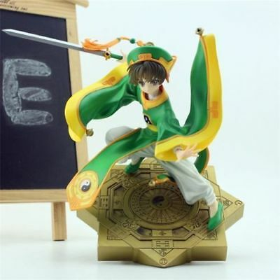 "New Card Captor Sakura CCS LI SYAORAN 9.05"" PVC Figure Figuren in Box"