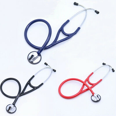 Professional Cardiology Single Head Stethoscope Tunable Diaphragm with 4 Eartips
