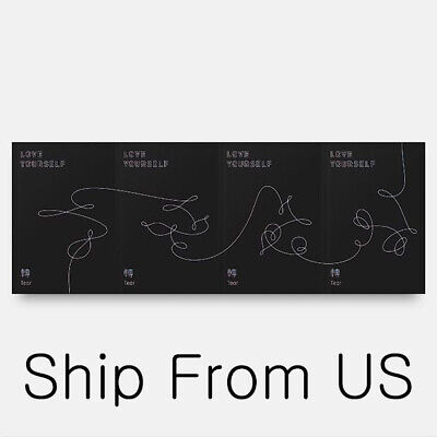 BTS LOVE YOURSELF 轉 'Tear' 3rd Album Y O U R Verson K POP Music Ship From US