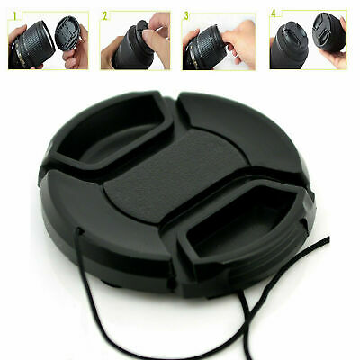 82mm Camera Snap-on Front Lens Cap Cover For Canon Nikon Sony Pentax Olympus UK