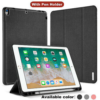 "Shockproof With Pen Holder Smart Case Cover for iPad Pro 10.5"" 12.9"" iPad 9.7"""