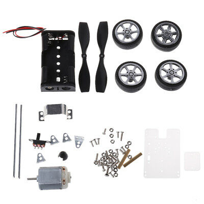 130 Brush Motor Wind Educational Toy Mini DIY Car Motor Robot Kit for Arduino