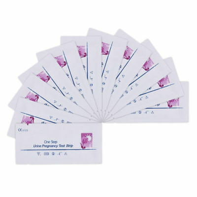 100 X ULTRA EARLY 10mIU HOME PREGNANCY HCG URINE KIT TESTS TEST STRIPS STRIP
